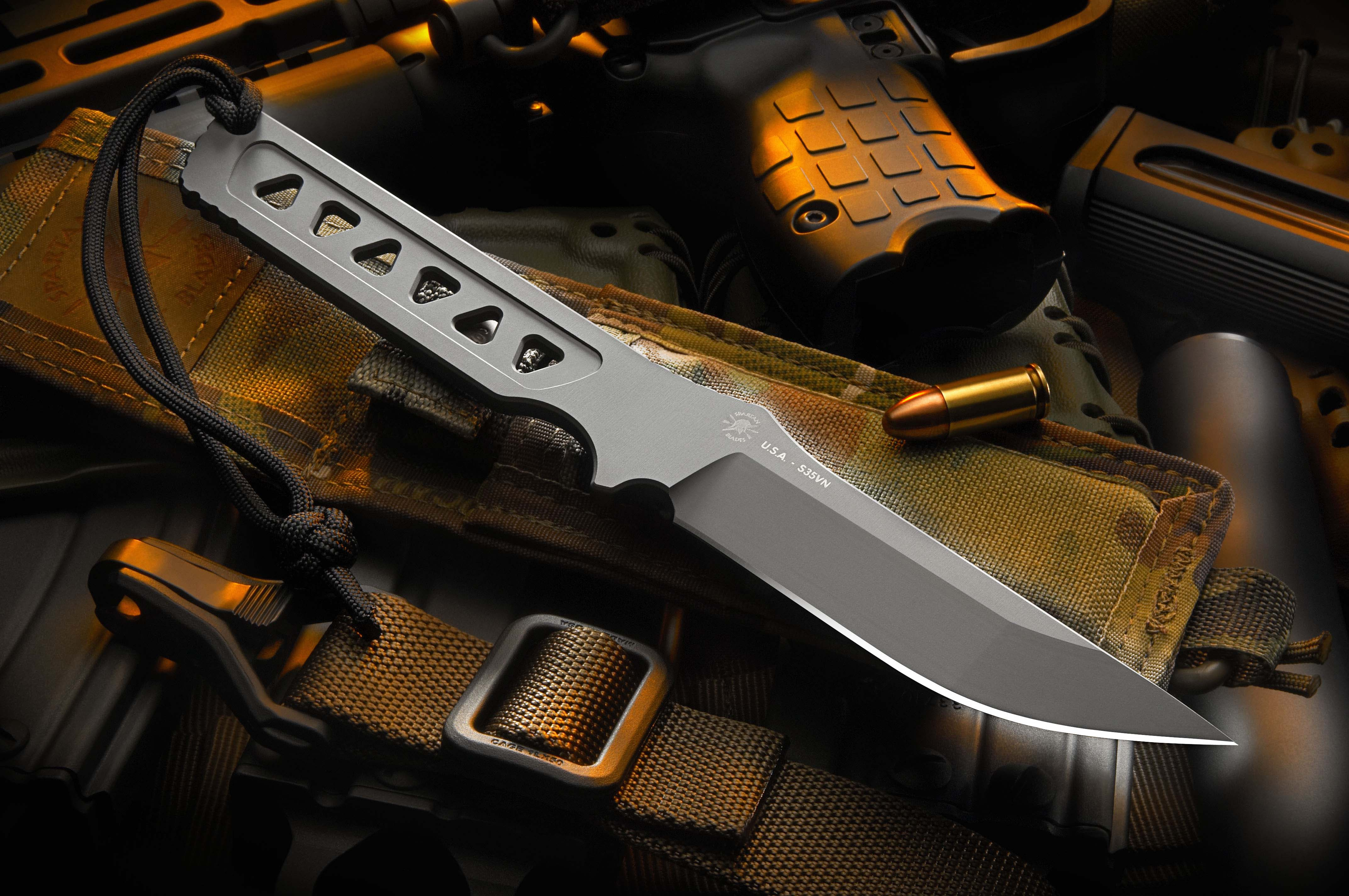 formed fixed blade knife spartan blades